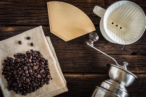 Filter-Kaffeebohnen