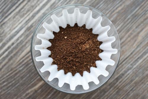 Filterkaffee-ungekocht