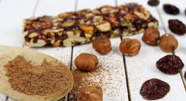 vegane und glutenfreie Nussriegel von Foodloose
