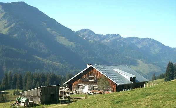 Berghütte-Traditionell