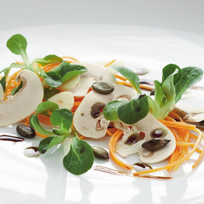 Rezept: Champignon Vogerlsalat