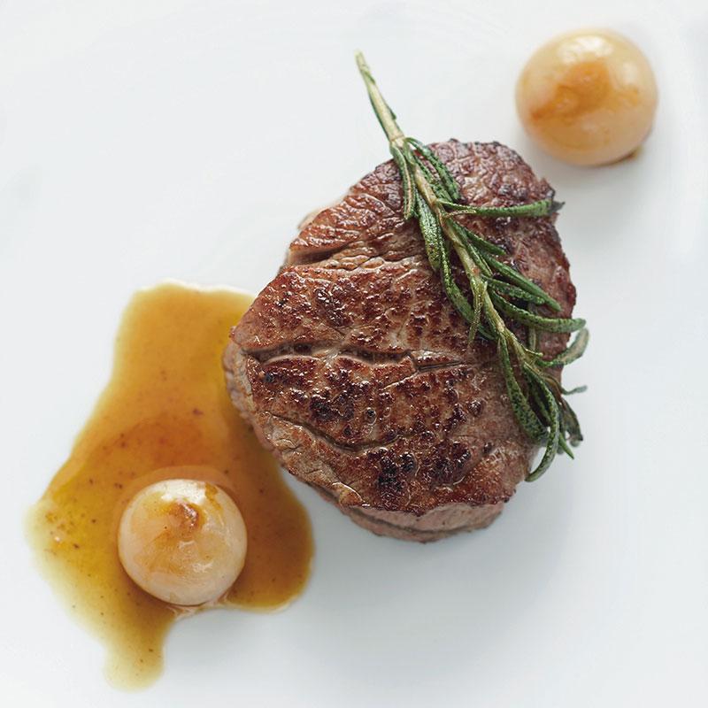 Rezept: Filetsteaks mit Balsambutter