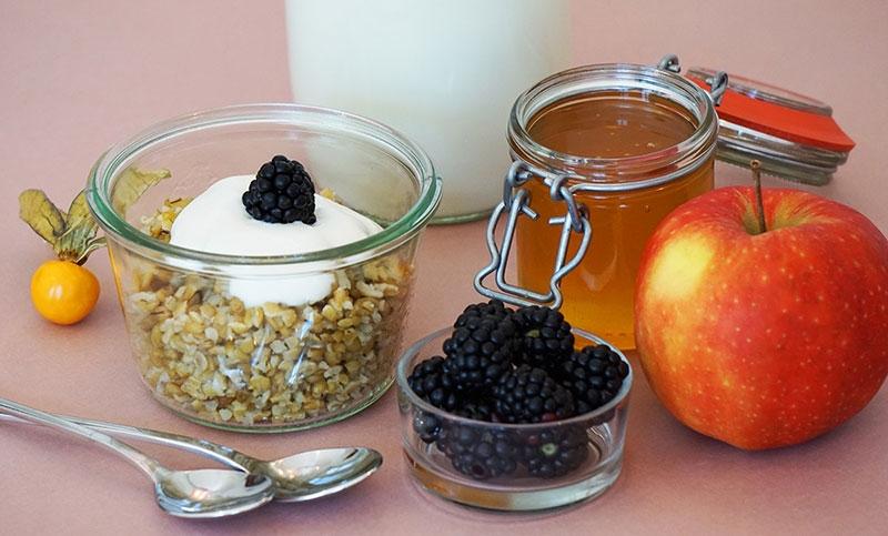 Rezept: Ausgewogenes Frühstück mit Freekeh