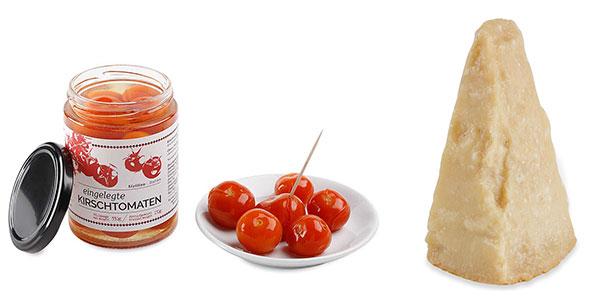Rezept: Eier im Äggcøddler mit Kirschtomaten und Parmesan