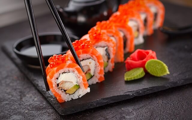 Sushi-Mit-Shoyu