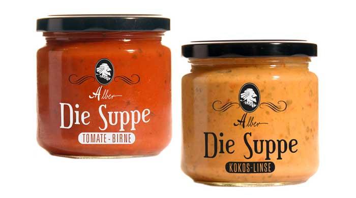 Grützen und Suppen der Gourmetmanufaktur Alber