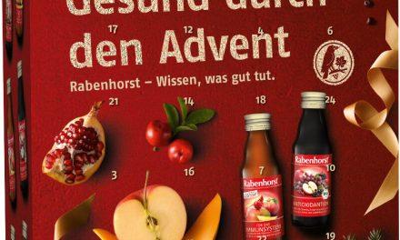 Gesund in den Winter mit dem Rabenhorst Adventskalender