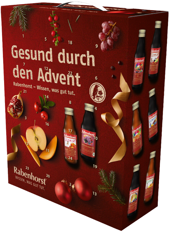 Gesund in den Winter mit dem Rabenhorst Adventskalender